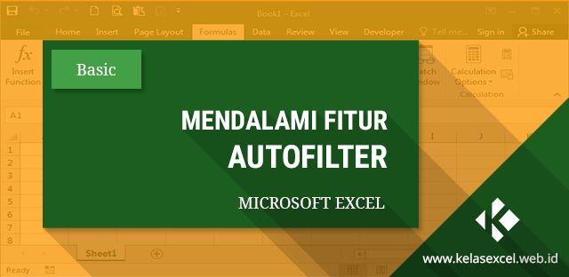 Autofilter Data Pada Excel 1