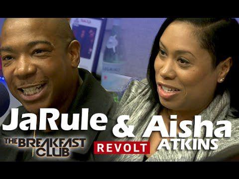 Ja Rule & Aisha Atkins at The Breakfast Club | New Series 'Follow The Ru...