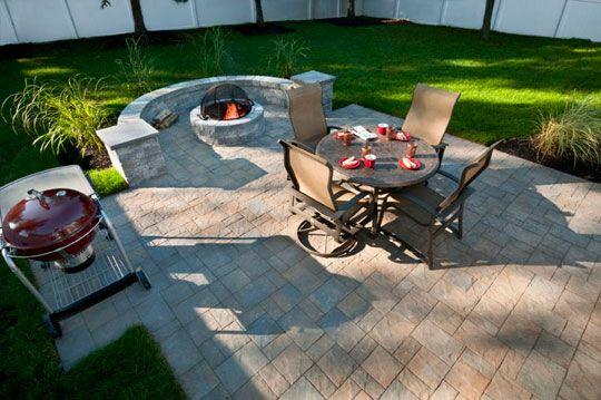 Slate Stone Hickory Standard Finish Paver Patio in Cherry Hill, NJ
