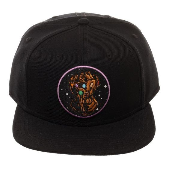 342845d8 Thanos Infinity Gauntlet Snapback Hat $19.99 #flatbill #Marvel #glove #hat  #Movies #Avengers #comic #InfinityGauntlet #Comics #cap #FreeShipping # Snapback # ...