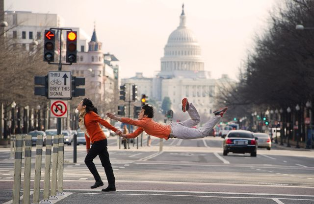 Sun Chong //  dancers among us - dancers posing in everyday public locations
