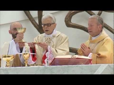 Msza Święta - kard. Franciszek Macharski Z SANKTUARIUM BOŻEGO MIŁOSIERDZIA W KRAKOWIE ŁAGIEWNIKACH Z 2012 ROKU .