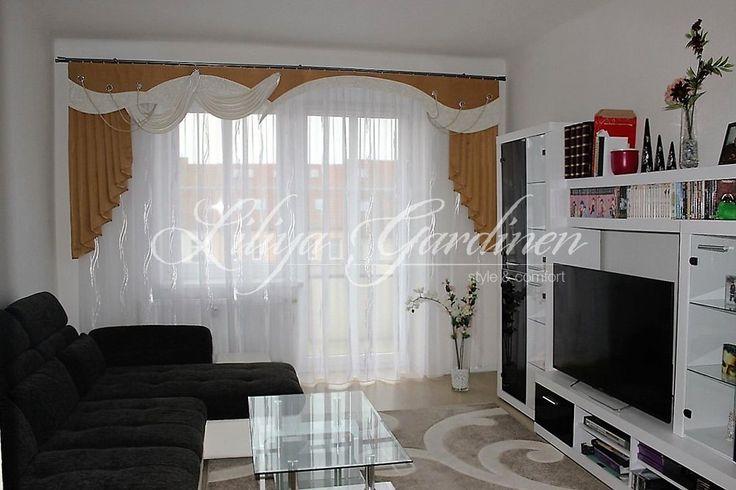 Wohnzimmer « Gardinen Liliya einrichten Pinterest Gardinen - wohnideen 50m