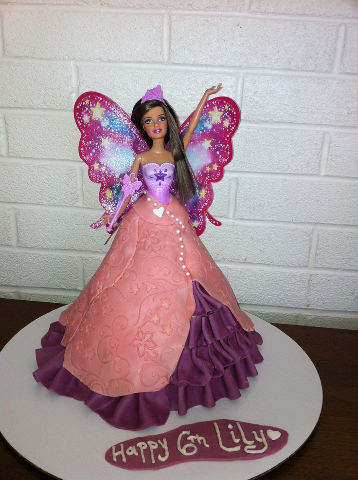Fairy Princess Cake Pictures : 511 best images about gateaux personnages roses on ...