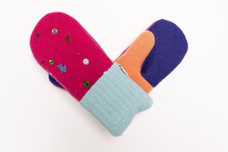 Wollpullover-Handschuhe für Damen ♥ Shimmer and Shine