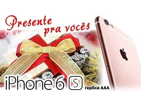 iPhone 6s Gold   PRESENTE para os inscritos   Especial de Natal
