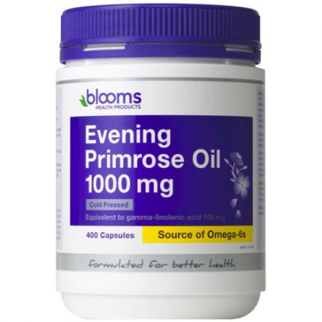 Buy Blooms Health Products, Evening Primrose Oil,200 Capsules Health supplement for sale in Cheapest Online supplements store megavitamins in Melbourne, Sydney & across Australia.