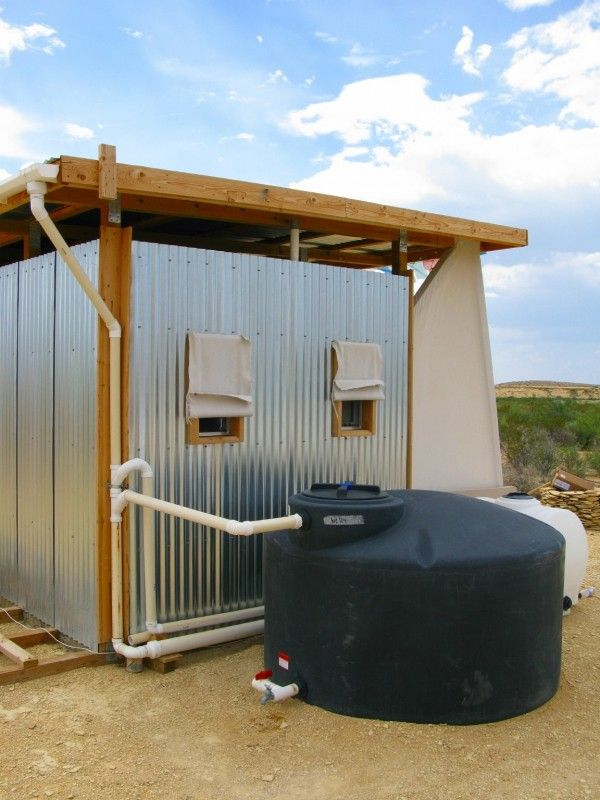 Field Lab Rain Water Tank