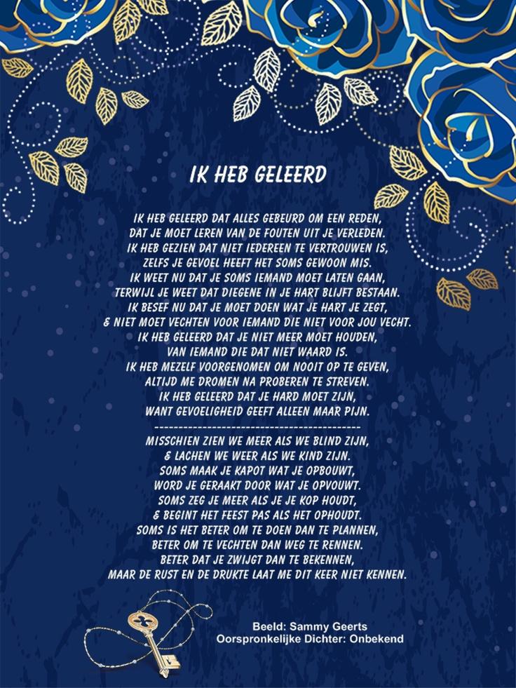 Citaten En Gedichten : Best images about spreuken gedichten gezegden en
