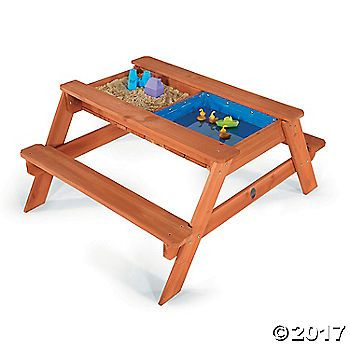 The Surfside Sand and Water Table is ideal for introducing little ones to creative sand and water play. Sail boats across the water, then land them safely ...