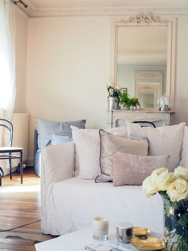 Avec Sofié-blog and Parisian Home. #Gervasoni #Paris #livingroom