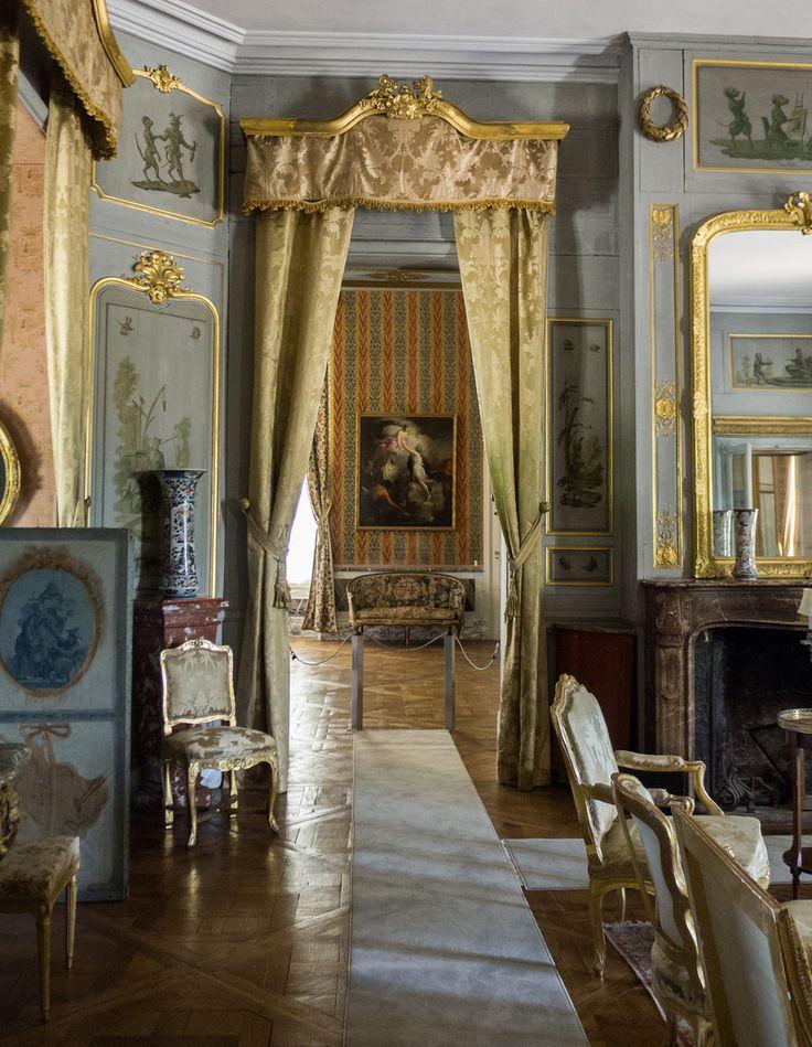 Chateau de Jeurre interior, France