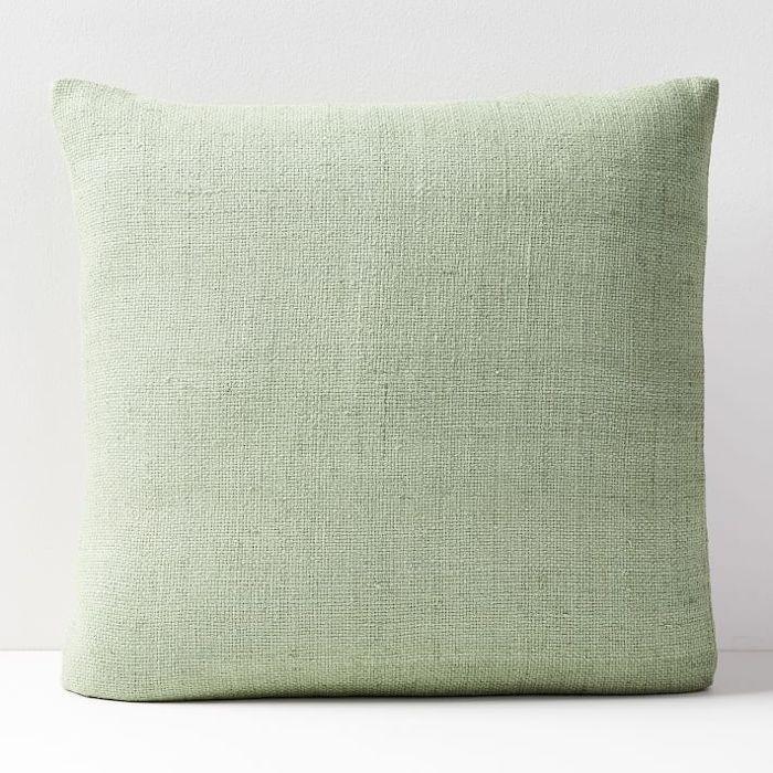 Silk Hand Loomed Pillow Covers Pillows Pillow Covers Green Pillows