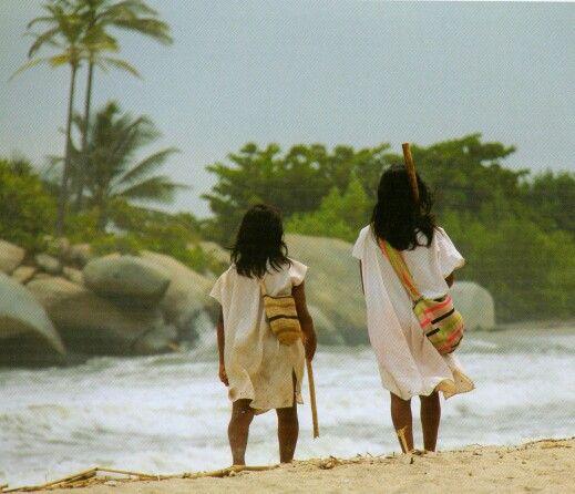 Indigenas Tayronas/ Santa Marta Colombia