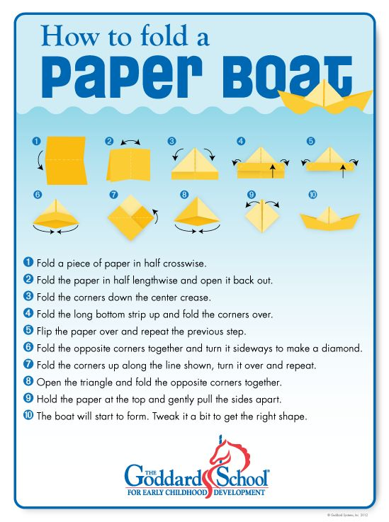 How To Make A Paper Boat That Floats And Moves