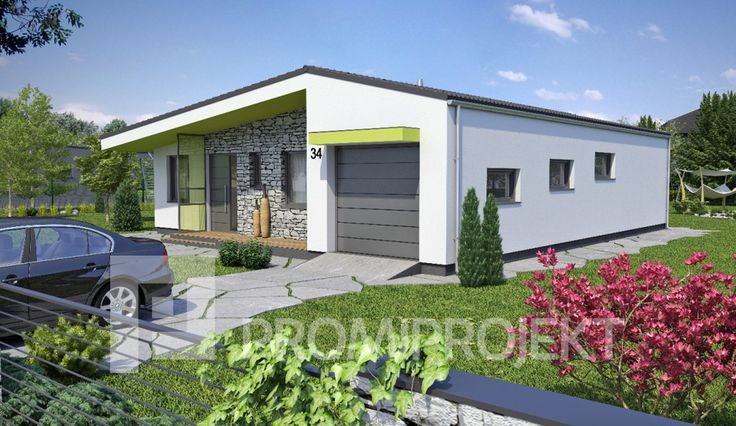 Promiprojekt s.r.o. - katalogové projekty rodinných domov - Laguna 34