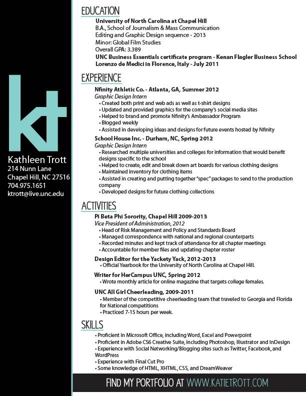104 best Work Stuff images on Pinterest - entry level graphic design resume