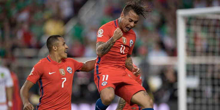 Copa America 2016: Mexico vs. Chile quarterfinal highlights - http://www.sportsrageous.com/soccer/copa-america-2016-mexico-vs-chile-quarterfinal-highlights/29179/