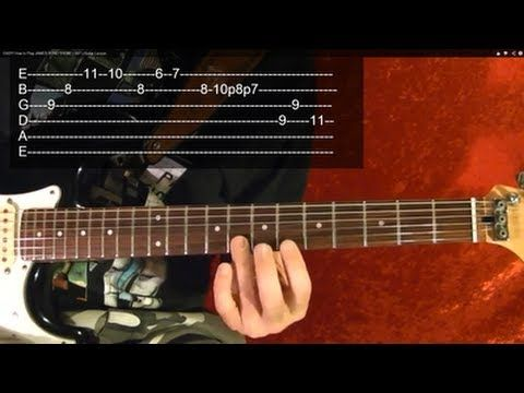 Guitar lesson on how to play 10 awesome guitar riffs! Easy to follow with tabs. Pinterest: http://www.pinterest.com/bobbycrispy Twitter: https://twitter.com/...