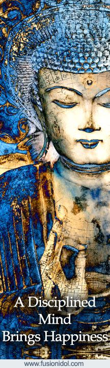 """Buddha Artwork """"Inner Guidance"""" by artist Christopher Beikmann. Prints and gifts available from www.fusionidol.com #Buddhaart"""
