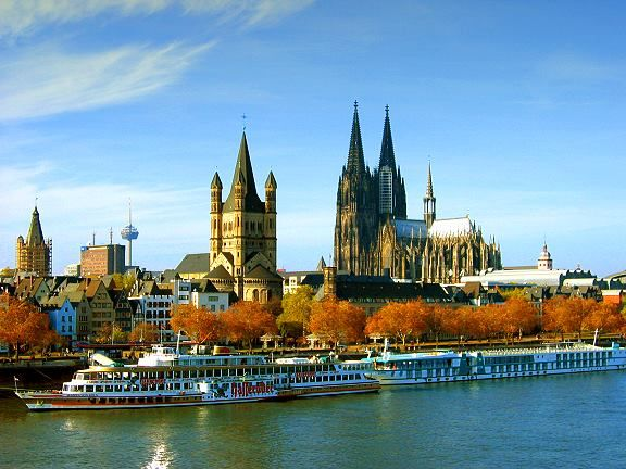 Cologne Germany - what a fabulous city! Make sure you take a cable car ride across the Rhine river - spectacular views.