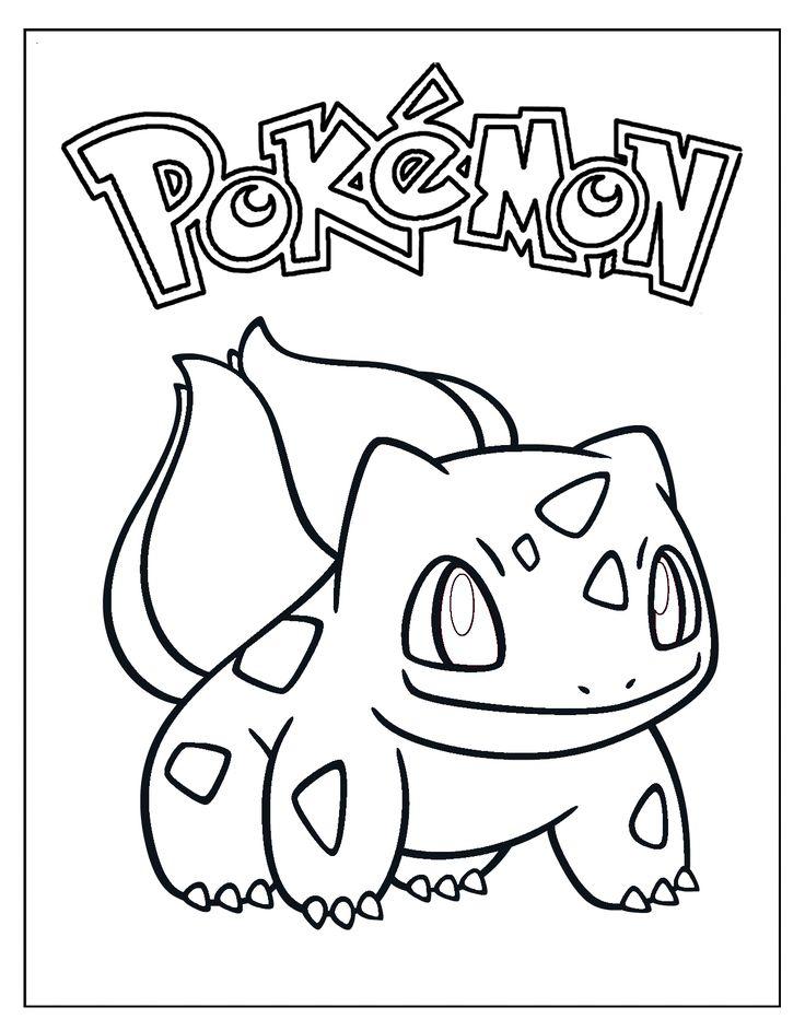 bulbasaur coloring sheet coloring pages Printable