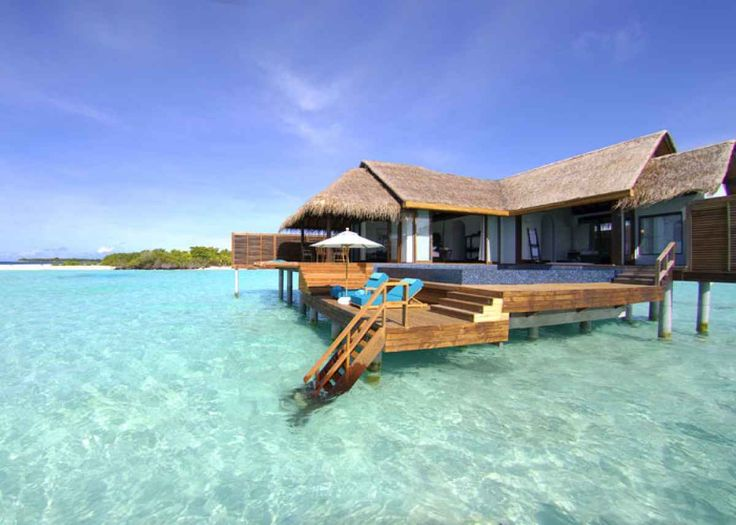 Best Overwater Bungalows In The Maldives Overwater Bungalows - Angsana velavaru resort surrounding by blue waters with tropical and contemporary styles maldives
