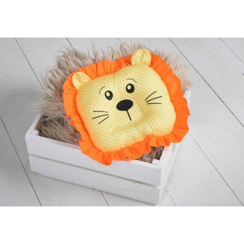 ТМ Magbaby Детская ортопедическая подушка- игрушка для новорожденных Leo
