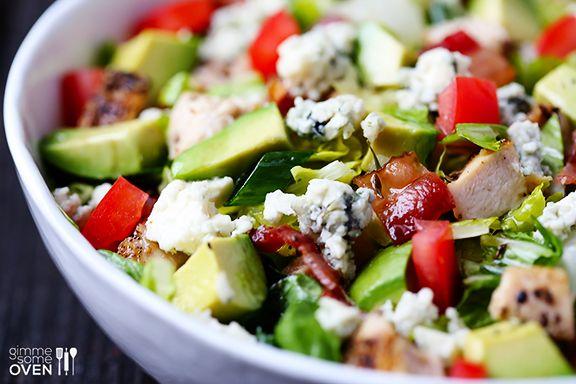 Chicken, Bacon and Avocado Chopped Salad