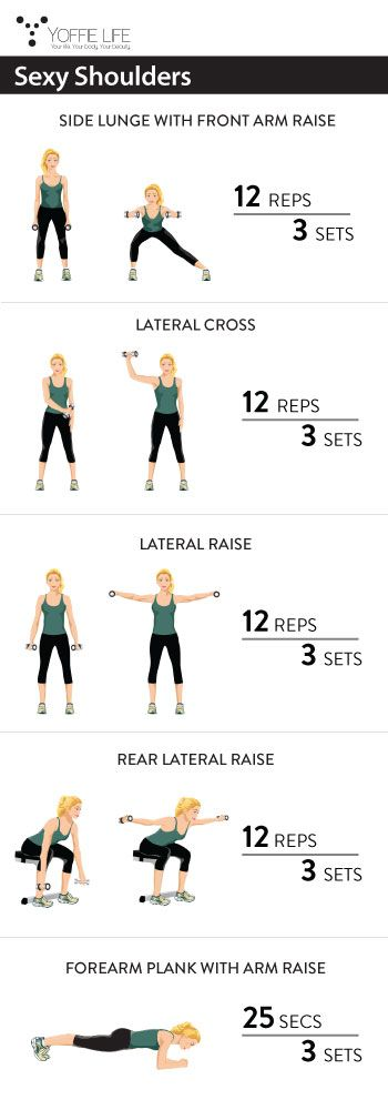 Sexy Shoulders #sexy #shoulders #workout #exercise #fit #fitness #health #healthy #healthyliving