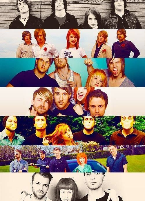 Paramore ! Boy band even doe there a girl lool I still love them