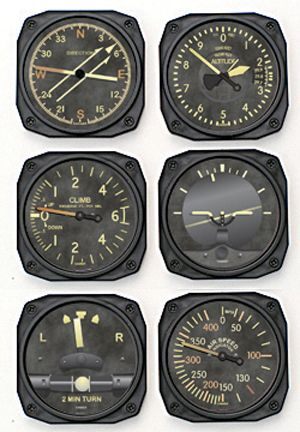 Vintage Airplane parts for accents & decor
