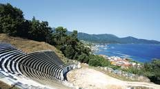 Track down the history in #Thassos Town