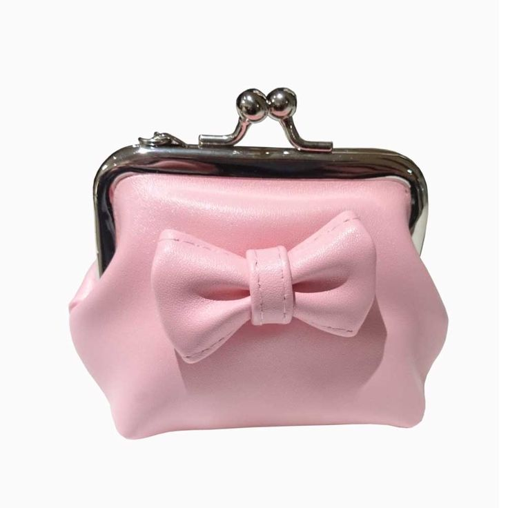 Banned Sienna pastel portemonnee met strik roze - Banned   Attitude Ho