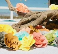 Gorgeous Paper Flowers (136 Total)   Marketplace   100 Layer Cake