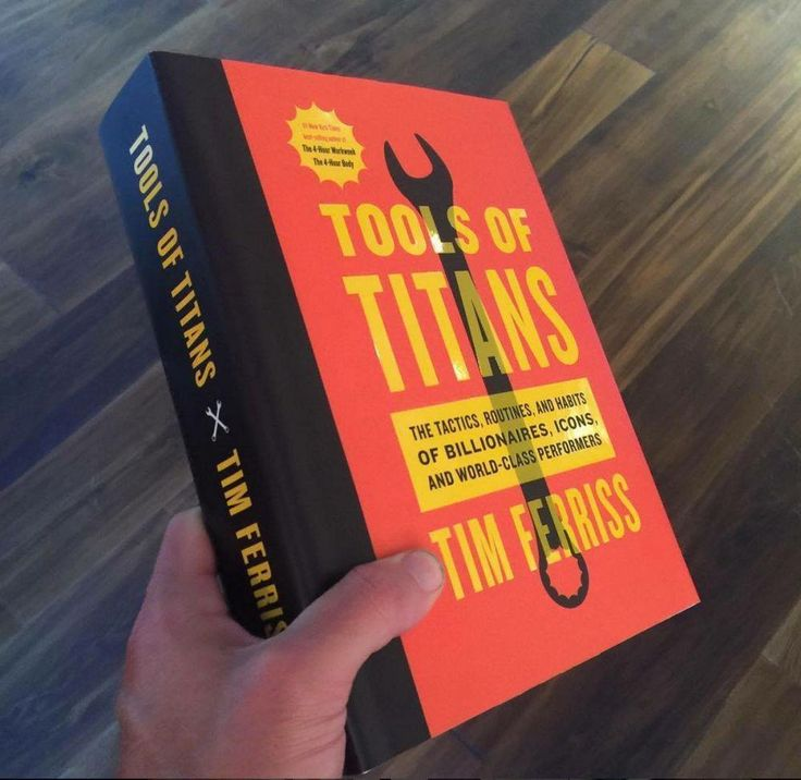 "Click to find more Quotes from Tim Ferriss' book! And to see my review of ""Tools of Titans"". Tim Ferriss new book Tools of Titans. A great book for entrepreneurs, full of productivity, health, wealth, tips and habits!"