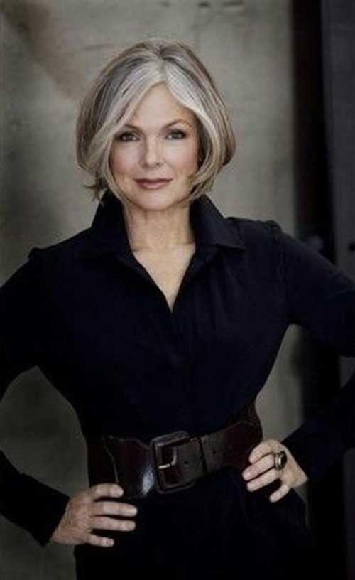 20 estilos de pelo corto para mujeres mayores de 50