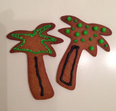 Solfylt jul med palmepepperkaker
