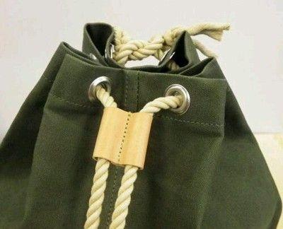 Kyoto Brand Gym Duffle Bag Unisex Hanpu Canvas Cotton Japan Import Tokyo Green | eBay