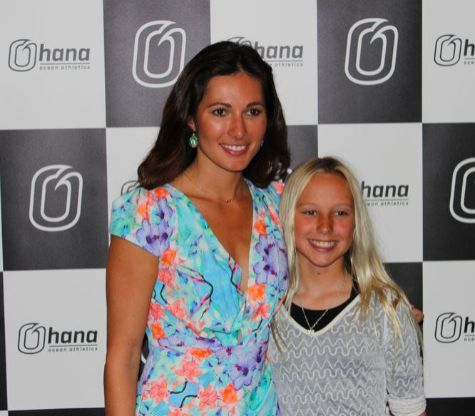 Laura Andon with Ohana Ocean Athletics, Tradies Caringbah, Maxum Watches and Surfing NSW.