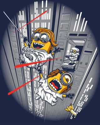 More STAR WARS Minion Art Fun - Despicable Escape