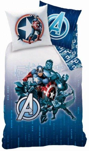 Set Copripiumino Avengers Letto Singolo Cameretta Bambino - TocTocShop.com - Fantastico per i Bambini, Imbattibile nei Prezzi