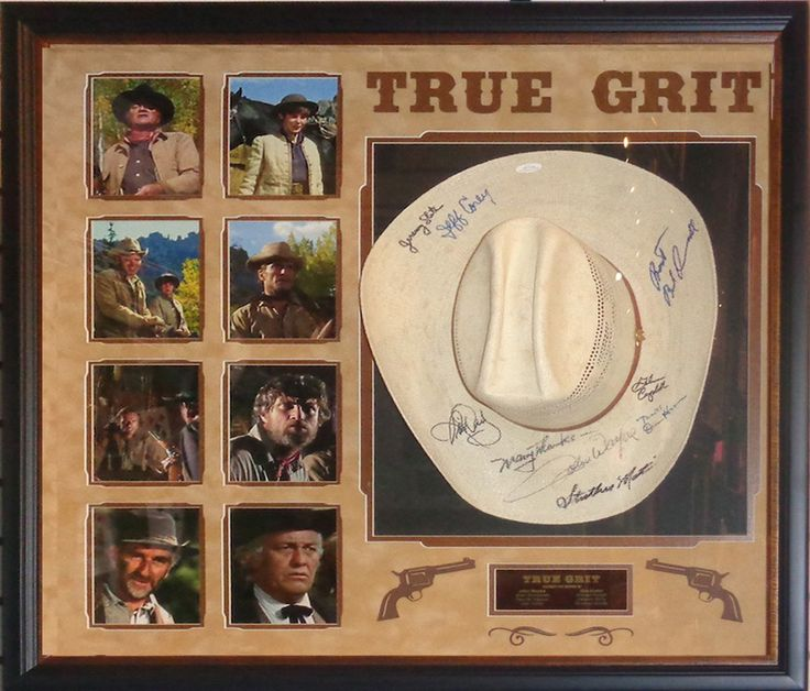 True Grit Cast Signed Hat - Antiquities LV
