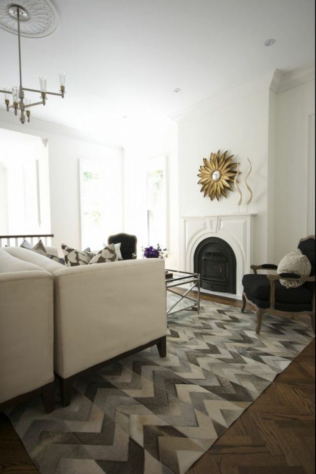 26 best Artic\u0027s Cowhide Rug Collection images on Pinterest Cowhide - Kuhfell Teppich Wohnzimmer