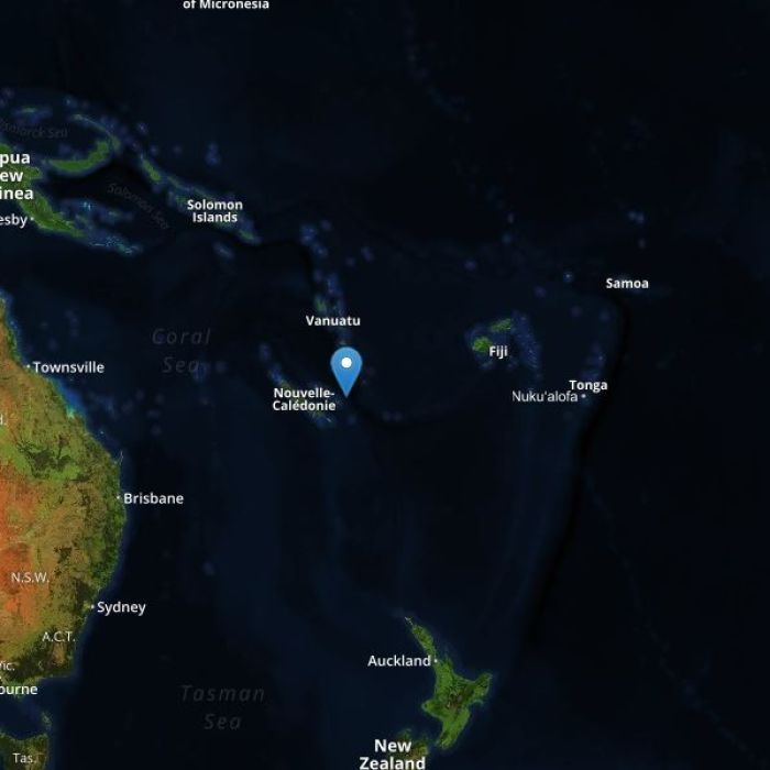 Kentucky Earthquake Map%0A Tsunami danger  u    largely passed u     after powerful earthquake strikes near New  Caledonia  ABC Online