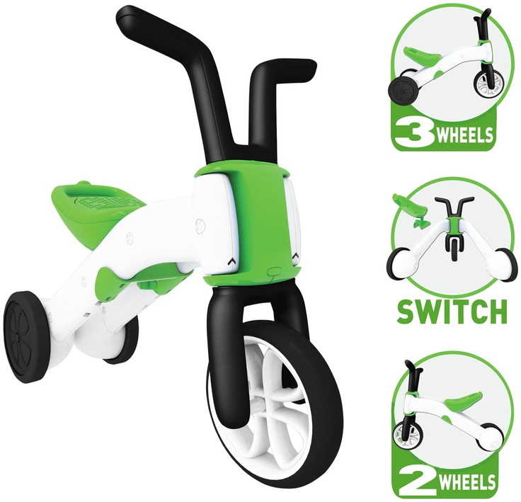 Chillafish Bunzi Gradual Balance Bike - Green