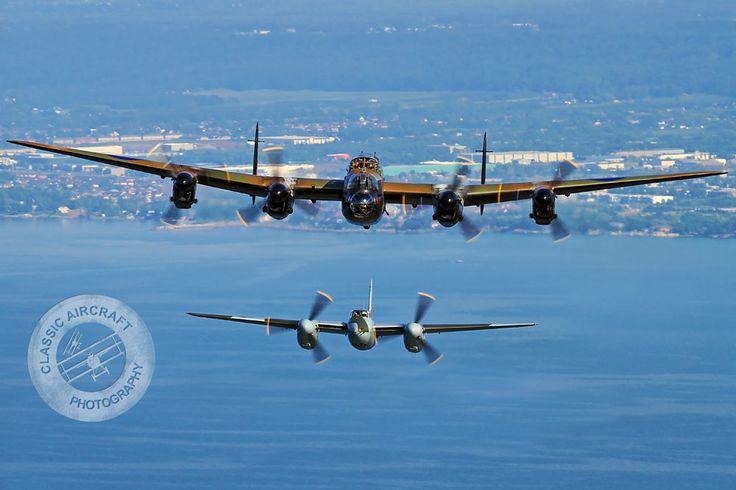 RAF Lancaster & RAF Mosquito