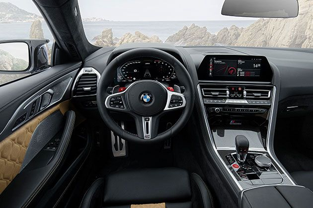 2020 Bmw M8 Competition Coupe Review In 2020 Bmw Interior Bmw