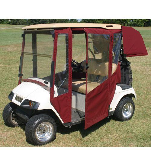 Yamaha Golf Cart Covers And Enclosures : Ezgo txt doorworks enclosures golf cart covers