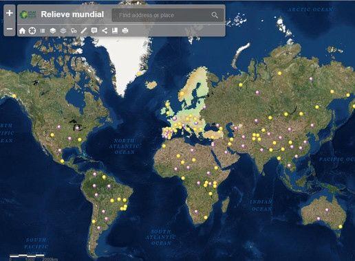 Geografía en la nube con un atlas interactivo — Noticias de la Ciencia y la Tecnología (Amazings®  / NCYT®)